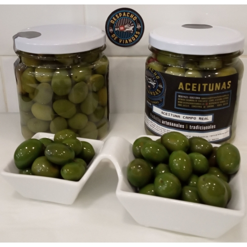 ACEITUNA CAMPO REAL BOTE DDV 500 GRS